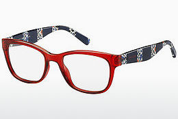 Lunettes design Tommy Hilfiger TH 1498 C9A - Rouges
