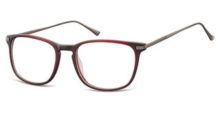 Sunoptic AC41 D Matt Dark Red/Matt Gunmetal
