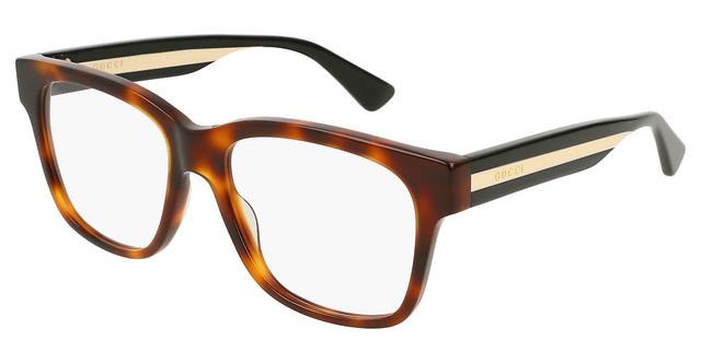 98ff4f16642 New Authentic GUCCI RX Eyeglasses GG0176OA 001 56 Black Color. ALOZ MICC  Transparent Women Men Eyeglasses Glasses Frame