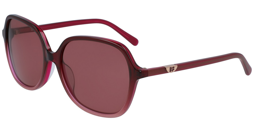 Diane von Fürstenberg   DVF666S HEATHER 605 BURGUNDY GRADIENT