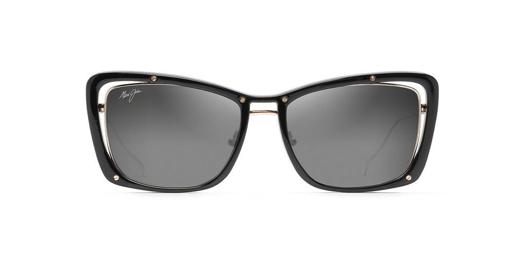 Maui Jim   Adrift GS808-02 Neutral GreyBlack Gloss + Shiny Gold