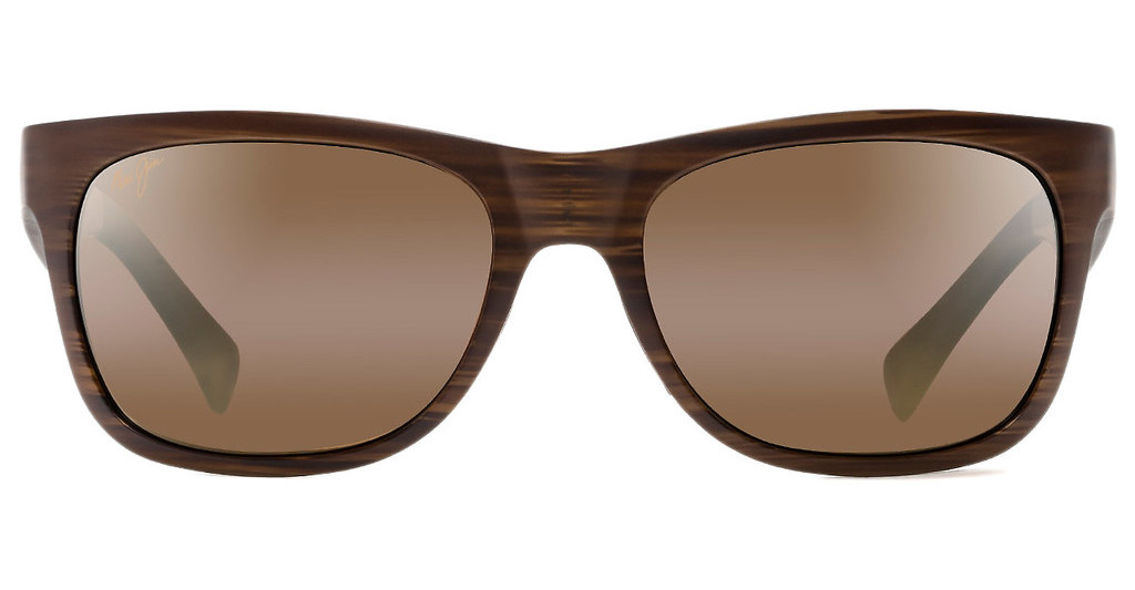 Maui Jim   Kahi H736-25W HCL BronzeMatte Brown Wood Grain