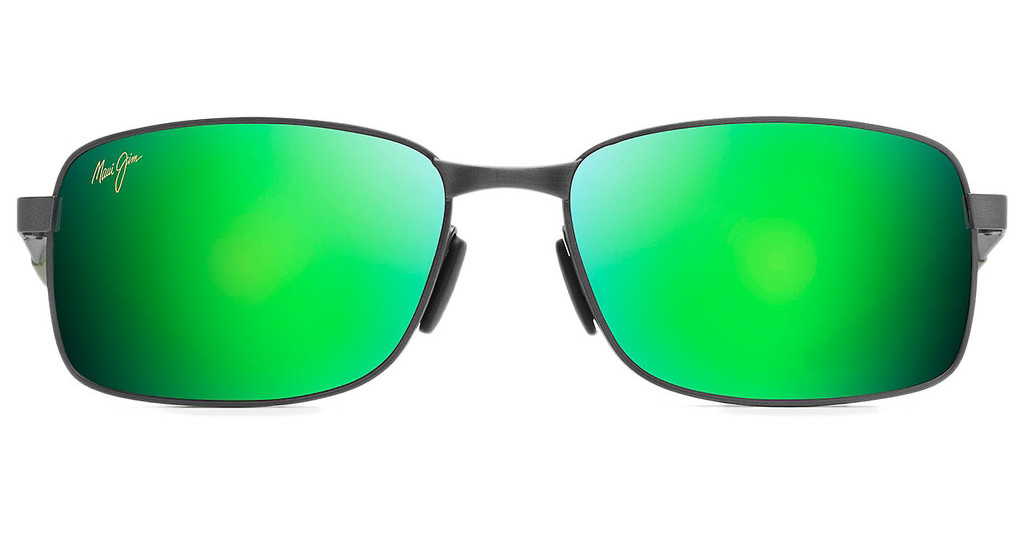 Maui Jim   Shoal GM797-02F MAUIGreen (*No Rx)Brushed Gunmetal