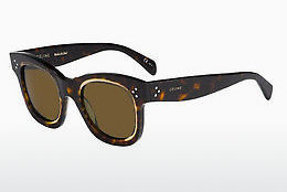 Ophthalmic Glasses Céline CL 41397/S T7F/A6 - Yellow, Brown, Havanna