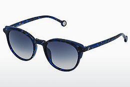 Ophthalmic Glasses Carolina Herrera SHE742 06DQ - Blue, Havanna