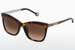Ophthalmic Glasses Carolina Herrera SHE746 09AJ - Brown, Havanna