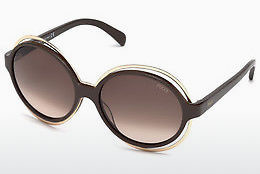 Ophthalmic Glasses Emilio Pucci EP0055 48F - Brown, Dark, Shiny