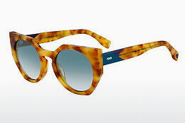Ophthalmic Glasses Fendi FF 0151/S 2J3/EZ - Orange, Brown, Havanna, Yellow