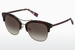 Ophthalmic Glasses Furla SFU138 0722 - Havanna