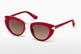 Ophthalmic Glasses Guess GU7498 66F - Red, Shiny