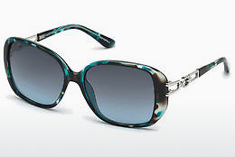 Ophthalmic Glasses Guess GU7563 87W - Blue, Turquoise, Shiny