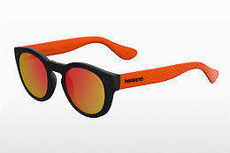 Ophthalmic Glasses Havaianas TRANCOSO/M QTB/UZ - Black, Orange