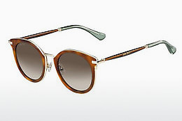 Ophthalmic Glasses Jimmy Choo RAFFY/S QAN/J6 - Brown, Havanna