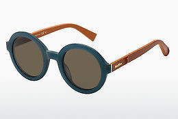 Lunettes de soleil Max Mara MM TAILORED III LWS/8E - Bleues, Orange