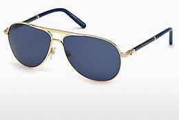 Ophthalmic Glasses Mont Blanc MB512S 28V - Gold