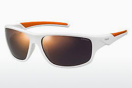 Ophthalmic Glasses Polaroid Sports PLD 7010/S IXN/OZ - White, Orange