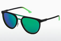 Ophthalmic Glasses Police SPL586 1HCV - Green, Black
