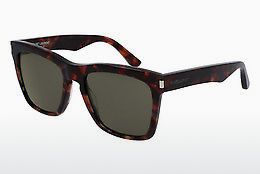 Ophthalmic Glasses Saint Laurent SL 137 DEVON 002 - Brown, Havanna
