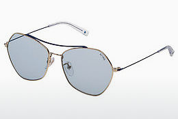 Lunettes de soleil Sting SST193 0492 - Or, Blanches