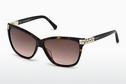 Ophthalmic Glasses Swarovski SK0137 52F - Brown, Havanna