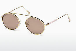 Lunettes de soleil Tod's TO0198 28Z - Or