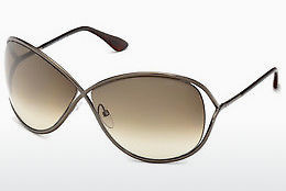 Ophthalmic Glasses Tom Ford Miranda (FT0130 36F) - Brown, Dark, Shiny