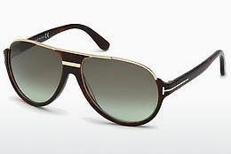 Lunettes de soleil Tom Ford Dimitry (FT0334 56K) - Havanna