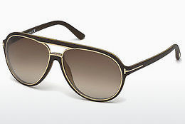 Ophthalmic Glasses Tom Ford Sergio (FT0379 50K) - Brown, Dark