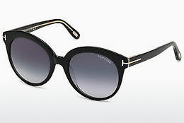 Ophthalmic Glasses Tom Ford Monica (FT0429 03W) - Black, Transparent