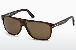 Lunettes de soleil Tom Ford Inigo (FT0501 52E) - Brunes, Dark, Havana