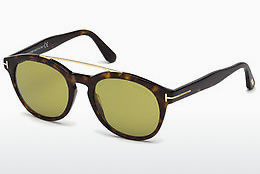 Lunettes de soleil Tom Ford Newman (FT0515 52N) - Brunes, Dark, Havana