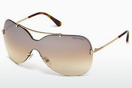 Lunettes de soleil Tom Ford Ondria (FT0519 28F) - Or