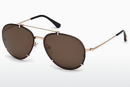 Ophthalmic Glasses Tom Ford Dickon (FT0527 28F) - Gold