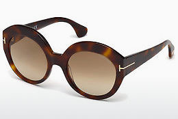Ophthalmic Glasses Tom Ford Rachel (FT0533 53F) - Havanna, Yellow, Blond, Brown