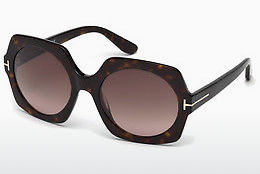 Ophthalmic Glasses Tom Ford Sofia (FT0535 52T) - Brown, Dark, Havana