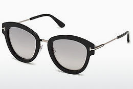 Lunettes de soleil Tom Ford FT0574 14C - Grises, Shiny, Bright