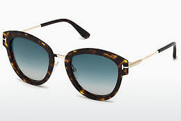 Lunettes de soleil Tom Ford FT0574 52P - Brunes, Dark, Havana