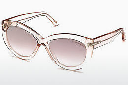 Lunettes de soleil Tom Ford FT0577 72Z - Or, Rosa
