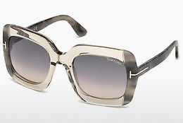 Ophthalmic Glasses Tom Ford FT0580 59B - Horn, Beige, Brown