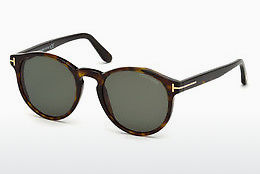 Lunettes de soleil Tom Ford FT0591 52N - Brunes, Dark, Havana