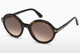 Lunettes de soleil Tom Ford FT0602 052 - Brunes, Dark, Havana