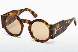 Lunettes de soleil Tom Ford FT0603 55E - Multicolores, Brunes, Havanna