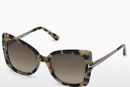Lunettes de soleil Tom Ford FT0609 55K - Multicolores, Brunes, Havanna