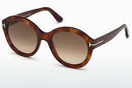 Ophthalmic Glasses Tom Ford FT0611 53F - Havanna, Yellow, Blond, Brown