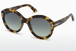 Lunettes de soleil Tom Ford FT0611 55P - Multicolores, Brunes, Havanna