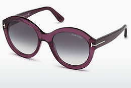 Ophthalmic Glasses Tom Ford FT0611 69B - Burgundy, Bordeaux, Shiny