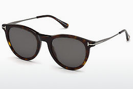 Lunettes de soleil Tom Ford FT0626 52A - Brunes, Dark, Havana