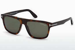 Lunettes de soleil Tom Ford FT0628 52N - Brunes, Dark, Havana