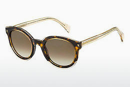 Ophthalmic Glasses Tommy Hilfiger TH 1437/S KY1/J6 - Yellow, Brown, Havanna, White