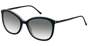 Rodenstock R7404 A sun protect - smokx grey gradient - 68%black layered
